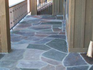 Deck overlay - decorative finish