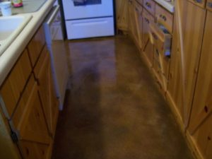 textured overlay in kitchen