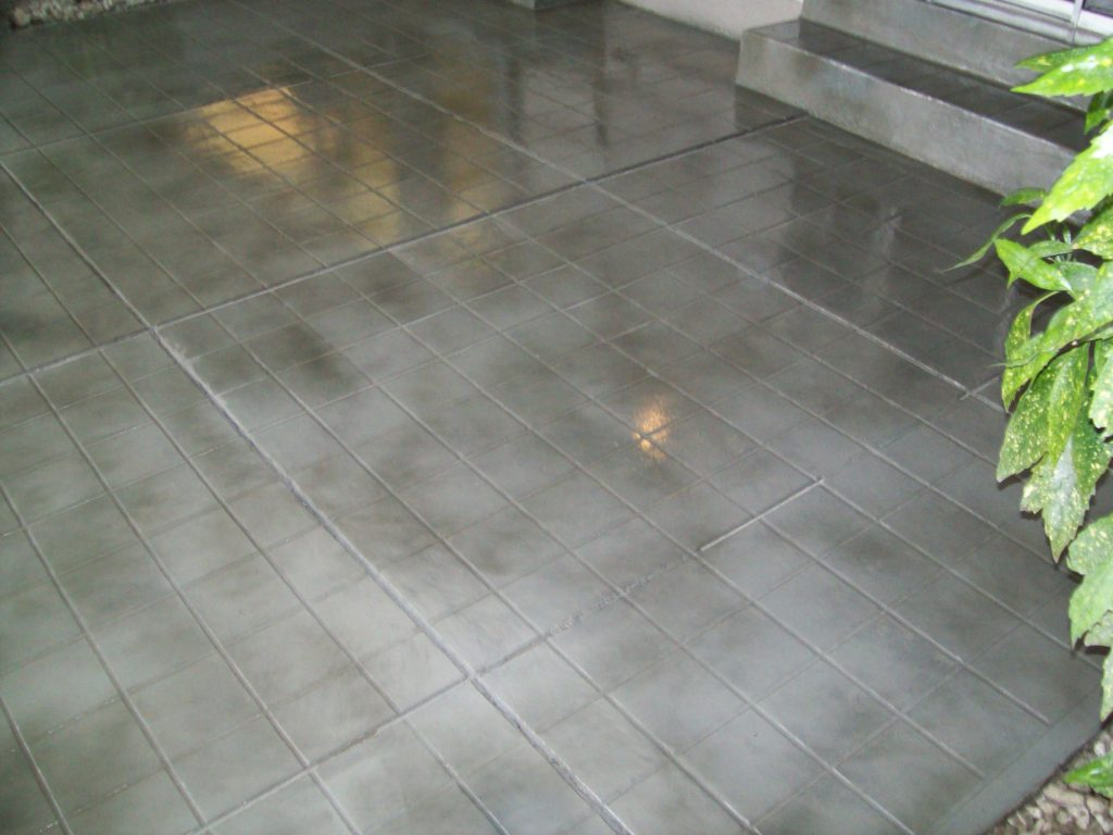 Concrete Sealing, Colored Sealers and Densifying - Tuff